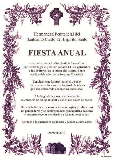 Fiesta Anual de la Hermandad 2013