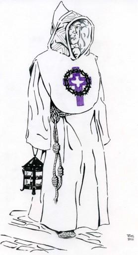 Hábito de la Hdad. del Espíritu Santo