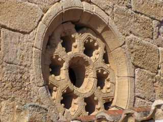 Rosetón Iglesia Espíritu Santo (Zamora)