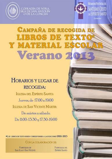 Recogida Material Escolar 2013