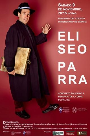 Concierto Solidario Eliseo Parra